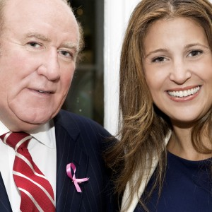 Andrew Neil and friend